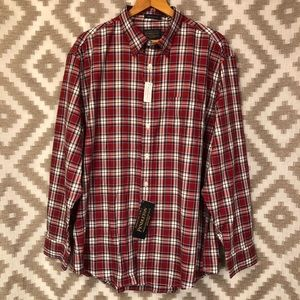 Pendleton Men's Bridgeport Plaid Dress Shirt